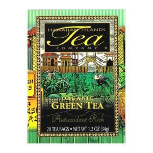 紅茶 フレーバー ハワイ アイランド ティー カンパニー オーガニックグリーンティー 1.7g×20袋|funsense
