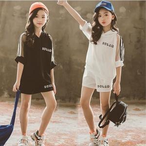 子供服セットアップキッズ女の子韓国子供服上下セット2点セットトップス半袖Tシャツショートパンツ短パン...