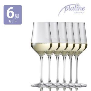 ワイングラス プラティーヌ ホワイトワイン 386CC 6個セット 白ワイン 人気 ドイツ製|funvinoshop