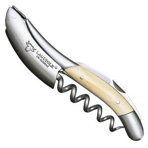 ソムリエナイフ ラギオール アン オブラック マンモスアイボリー(マンモスの牙) 最高級 フランス製 正規品 送料無料 funvinoshop