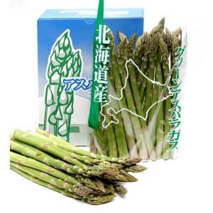 富良野産 グリーンアスパラ 1kg箱  【北海道 農家直送】|furano-kanofarm