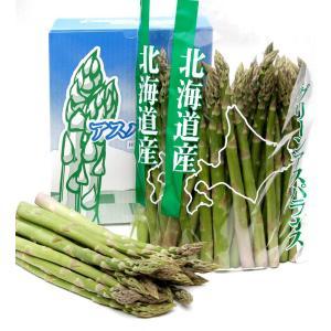 富良野産 グリーンアスパラ 2kg箱  【北海道 農家直送】|furano-kanofarm