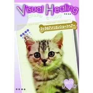 VisualHealing 9 3ッ子のアメリカンショートヘア  [レンタル落ち] [DVD]|furatto