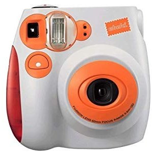 FUJIFILM インスタントカメラ チェキ instax mini 7 オレンジ INS MINI 7 O furatto
