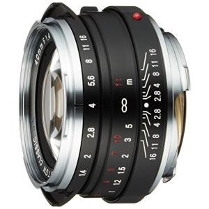 (中古品) VoightLander 単焦点レンズ NOKTON classic 40mm F1.4...