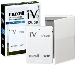 maxell 日立薄型テレビ「Wooo」対応 ハードディスクIVDR120GB M-VDRS120G.A|furatto