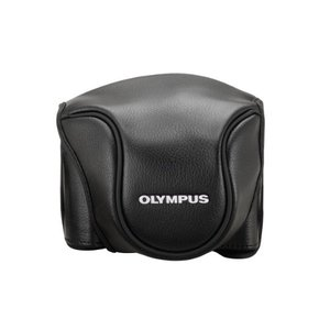 (中古品)OLYMPUS デジタルカメラ STYLUS1用 革カメラケース CSCH-118