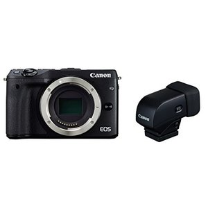 【中古品】 Canon ミラーレス一眼カメラ EOS M3 ボディ(ブラック) EVFキット EOS...