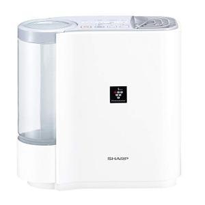 (中古品) シャープ 加湿器 プラズマクラスター搭載 気化式 パーソナルタイプ ホワイト HV-F3...
