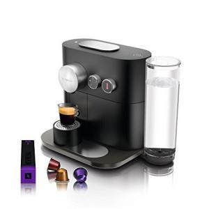 (中古品) ネスプレッソ ネスプレッソコーヒーメーカー ブラックNespresso エキスパート C...
