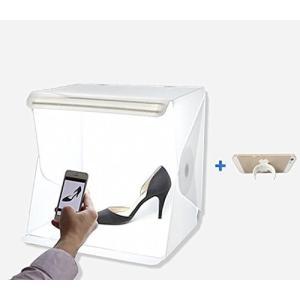 (未使用品) hana 簡易 撮影 ボックス woodystudio 組立式 スタジオ 照明キット ...