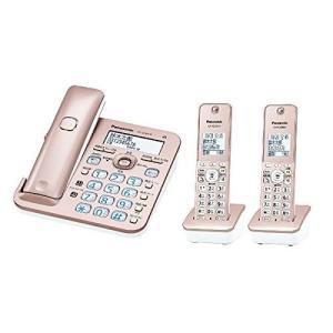 (未使用品) パナソニック 電話機 RU・RU・RU VE-GZ50DW-N [ピンクゴールド]  ...