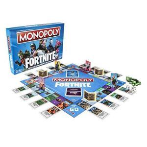 (未使用品) Monopoly Fortnite Edition Board Game モノポリーフ...
