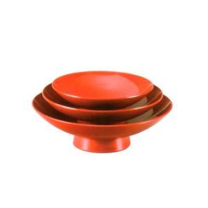組盃(ユリア樹脂製)朱 3.6組盃(漆塗+ウレタン塗装)(20-79-7)|fureaigift