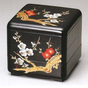 重箱 暁雲 6.5縁型 三段重 梅(20-82-8)|fureaigift