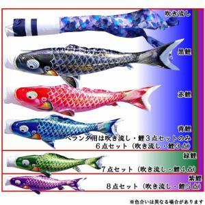 こいのぼり 鯉のぼり おしゃれ 庭園スタント゛セット 千寿鯉 2m 6点セット|fureaigift|04