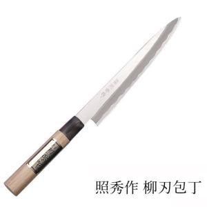 日本古来の和風包丁。特殊刃物鋼(ハガネ)製。 品番 704、 サイズ (約)全長35cm(刃渡り21...