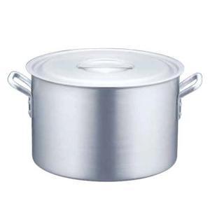アルミニウム半寸胴鍋 目盛付(アルマイト加工)AHV-62 商品No(5-0029-0201)内寸18cm fureaigift