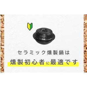 燻製鍋 トーセラム鍋 お手軽燻製鍋 スモークチップ5袋入り TSP/PN-31D5(熱燻製用) IH不可 fureaigift 03