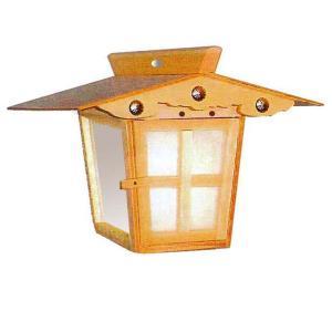 高灯籠 野灯呂 吊り灯籠 (IS吊り 平屋根)電装(電球40w、10mコード付)|fureaigift