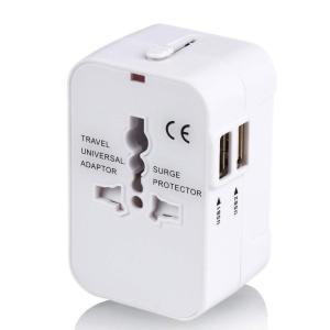 海外変換プラグ 2USBポート旅行充電器 A/O/BF/Cタイプ電源変換プラグ コンパクトな コンセ...