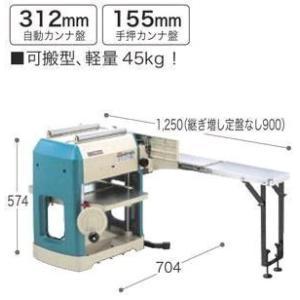 GYD!! 現場で役立つ電動工具シリーズ 電動鉋+かね出し 100V 持ち運びOK 超小型、可搬型(45kg)|furido