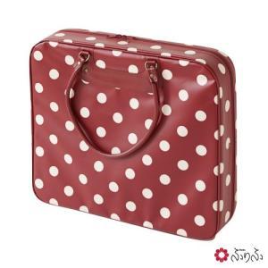 公式 ふりふ ドット和装着物バッグ (和装バッグ 着物バッグ 和装 着付教室バッグ きもの 着付に持ち運びに便利バッグとしても キャリーバッグ スーツ|furifu