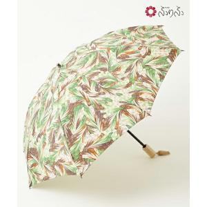 公式 ふりふ 花園マーブル日傘 オリジナル 暑さ対策 日よけ UVカット 日傘 折りたたみ コンパクト 携帯 お花柄 折畳み式 黒 和柄 和風 上品 大人女子 furifu