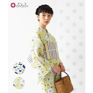 ■ふりふオリジナル「桜」お洋服でも定評のある柄行きを浴衣にも■ ふりふオリジナルプレタ浴衣です。 桜...