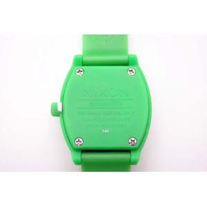 NIXON 腕時計 A425 330 SMALL TIME TELLER P スモールタイムテラー GREEN 新品 正規品|furisuta|05