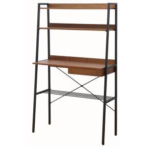 アンセム anthem コンソールラック ANR-2394BR ウオールナット材とスチール|furniture-direct
