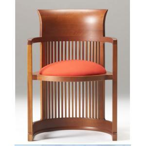 バレルチェア フランク ロイド ライト ダイニングチェア 木の椅子|furniture-direct