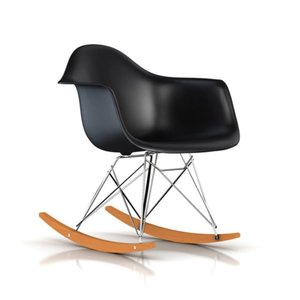 イームズ プラスチック シェル アームチェア ロッカーベース 脚トリバレントクローム RAR ハーマンミラー正規品|furniture-direct