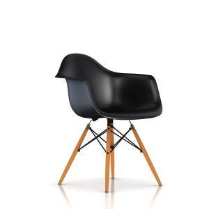 イームズ プラスチック シェル アームチェア 脚ダウェルベース DAW ハーマンミラー正規品|furniture-direct