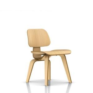イームズ プライウッド ダイニングチェア ウッドレッグ ホワイトアッシュ  DCW ハーマンミラー社|furniture-direct