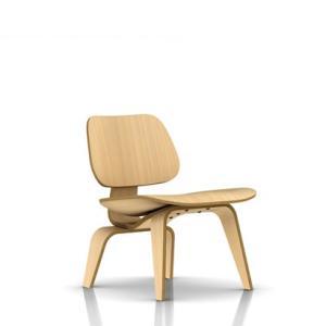 イームズ プライウッド ラウンジチェア ウッドレッグ LCW ホワイトアッシュ ハーマンミラー社|furniture-direct
