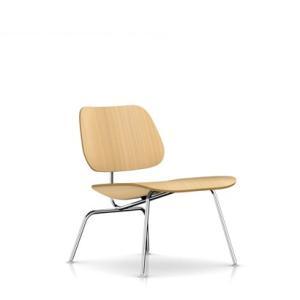 イームズ プライウッド ラウンジチェア ホワイトアッシュ メタルレッグ  ハーマンミラー社|furniture-direct