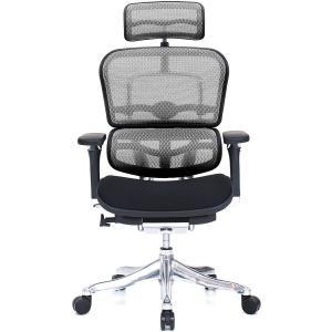 エルゴヒューマン プロ ハイブリッド(ハイバック)EHP-HAM ヘッド付き|furniture-direct