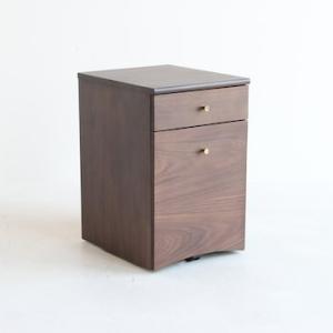 エモ 二段 チェスト 収納 片付け キャビネット 机の横 チェスト emk-3056|furniture-direct