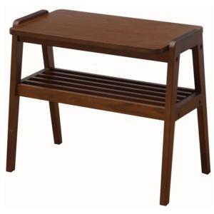 エモ サイドラック ウオールナット材  emo カントリー風の素朴な家具 furniture-direct
