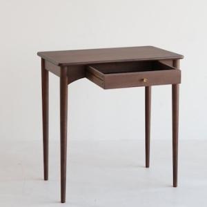 エモ デスク 幅70cm サイズ emt-3054br 新エモ 引き出し付き スリムデスク|furniture-direct
