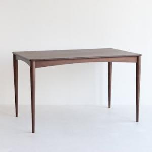 エモ ダイニングテーブル 120×75cm emo カントリー風の素朴なテーブル emt-3058|furniture-direct