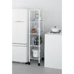 erecta ホームエレクター  スペースラック HSR-02 ホワイト|furniture-direct