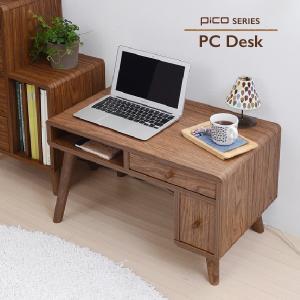 ミニ デスク シンプルデスク 収納 幅65 奥行 41 高さ 40 PCデスク パソコンデスク キャスター 付きワゴン ハイタイプ シンプル|furniture-direct