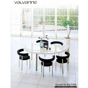 リーフテーブル FE-T160  半円形テーブル スモール サイズ バルバーニ|furniture-direct