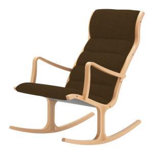 ヘロン ロッキング ハイバックチェア パーソナルチェア Aランク布 天童木工 T-5226|furniture-direct