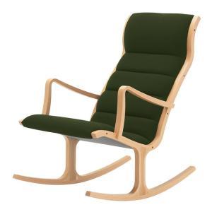 ヘロン ロッキング ハイバックチェア パーソナルチェア Bランク布 天童木工 T-5226WB|furniture-direct