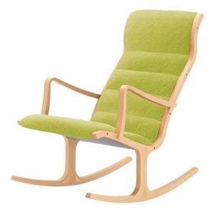 ヘロン ロッキング ハイバックチェア パーソナルチェア Cランク布 天童木工 T-3226|furniture-direct