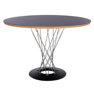 円型テーブル サイクロンテーブル ノグチ丸ダイニングテーブル 中国製 カフェテーブル|furniture-direct