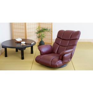 スーパーソフトレザー 座椅子 神楽 日本製 YS-1393|furniture-direct